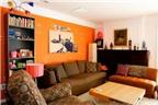 Trang trí phòng khách mùa đông