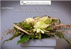 Cô gái gốc Đà Lạt đoạt giải ba thi cắm hoa toàn Australia