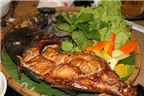 Thơm ngon cá bò đen nướng