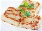 Bánh củ cải chiên: Món ngon cho bé