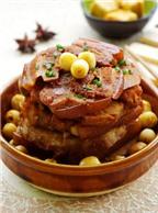 Thịt hấp hạt sen món ăn mới lạ, hấp dẫn