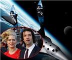 Kate Winslet nhận quà cưới là chuyến du lịch vũ trụ