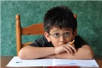 Dạy con hiệu quả khi bé học mất tập trung