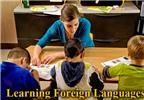 Lợi ích khi cho trẻ học ngoại ngữ sớm