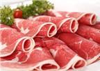 Mẹo phân biệt thịt bò, thịt trâu, thịt lợn