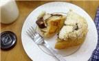 Bánh mỳ nhân chocolate ngọt ngào hấp dẫn cả nhà