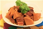 Cách làm các món ngon, lạ miệng từ thịt ba chỉ (tiếp)