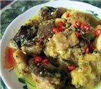 Chình biển nấu nước cốt dừa thơm ngon, béo ngậy