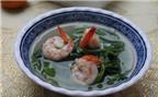 Canh rau muống nấu tôm – món ngon dân dã