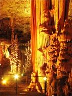 Hang động thạch nhũ tuyệt đẹp ở Israel