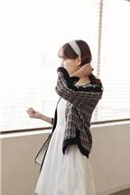 Mách bạn mặc đẹp với vải tweed
