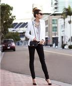 Quần jeans đen: Giải pháp tối ưu cho người chân to