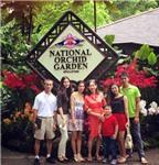 HH Thùy Dung đưa cả gia đình đi du lịch