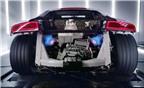 Siêu xe Audi R8 V10 khạc lửa