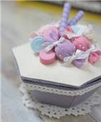 Cách làm hộp quà thật xinh xắn và dễ thương