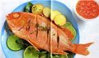 Cá nướng ngon trọn vẹn với xốt cay