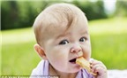Trẻ ăn dặm sớm dễ bị béo phì và đái tháo đường