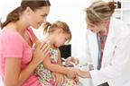 Chăm sóc trẻ sau tiêm chủng