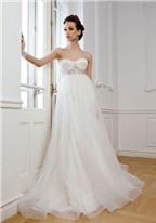Bí quyết chọn váy cưới cho cô dâu bầu