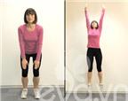 5 động tác giảm béo nhanh toàn thân