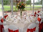 4 lưu ý khi đặt tiệc cưới