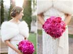 Cách phối hoa cưới mẫu đơn tuyệt đẹp