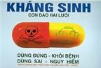 Những thuốc kháng sinh trẻ không được dùng