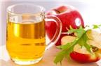 Bài thuốc chữa bệnh từ giấm trái cây