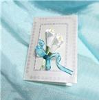 Cách làm thiệp hoa ruy-băng đơn giản mà đẹp