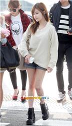 Fans ngạc nhiên với đôi chân nổi gân của người đẹp xứ Hàn