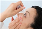 Nhỏ mắt thường xuyên hại cho đôi mắt