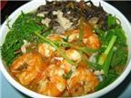 Bún tôm – món ăn đặc trưng của Hải Phòng