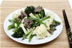 Cách làm các món thịt bò xào hấp dẫn cả nhà (tiếp)