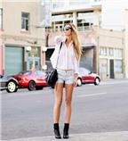 Bí quyết mặc quần soóc đẹp cho bạn gái