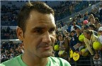 Federer giống ông già với mái tóc mới