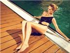 Bí quyết giữ tóc bóng, da mịn khi đi bơi
