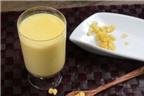 Cách làm sữa ngô ngon tuyệt