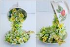 Sáng tạo trong cách cắm hoa đẹp tuyệt