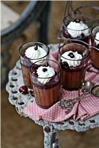 Mousse sô cô la đen tuyệt ngon
