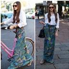 3 kiểu váy giúp đôi chân chống chọi nắng nóng