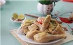 Luộc gà bằng nồi cơm điện cực ngon