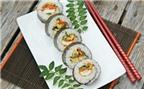 Sushi chay cực ngon trong những ngày ăn chay