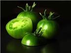 Không nên ăn cà chua xanh