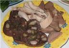 Món ăn thuốc từ lòng lợn
