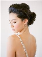 Lưu ý khi chọn kiểu tóc cưới búi thấp