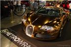Bugatti Veyron mạ crôm vàng