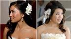 Lưu ý khi chọn kiểu tóc cưới với hoa