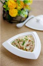 Canh thịt nấu nấm kim châm thơm ngon và hấp dẫn