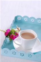 Độc đáo với sữa đậu nành hương hoa hồng