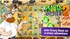 Trải nghiệm Plants vs. Zombies 2 trên nền tảng mobile